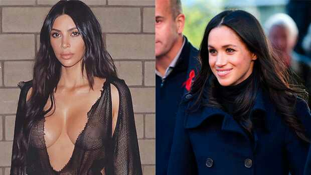 Kim Kardashian Trying To Win Meghan Markle Over As A Friend With Diamonds & More