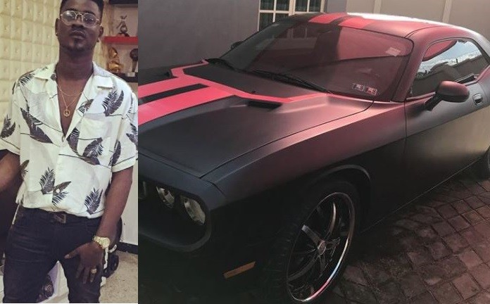 Kiss Daniel gifts his young brother with a Chevrolet Camaro whip on his birthday